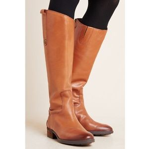 Sam Edelman Leather Brown Penny Tall Riding Boot 8